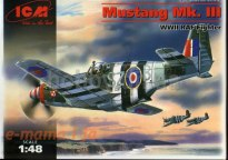 ICM Mustang MK III WWII RAF Fighter